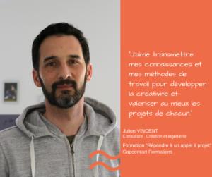 Portrait – Julien Vincent formateur