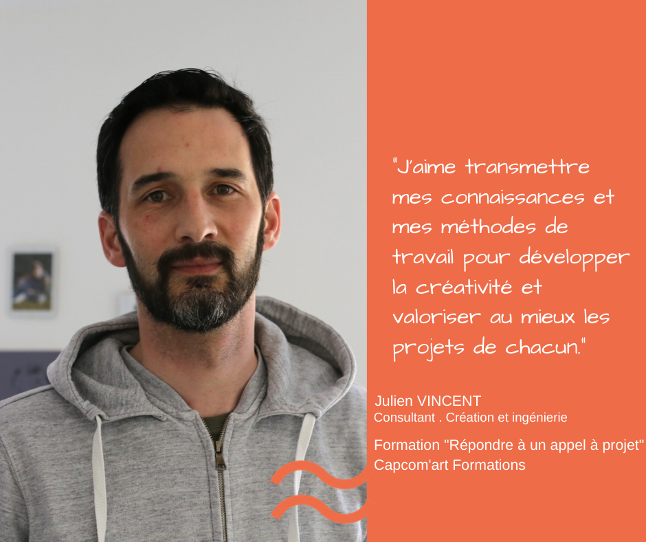 Portrait – Julien Vincent formateur