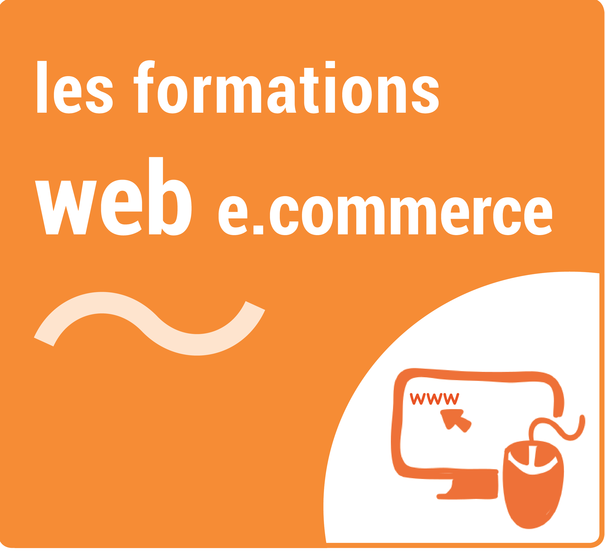 Icone Formations Web et e.commerce